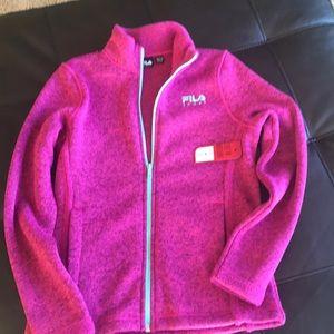 Girls Fila sport jacket size xs/s 7/8